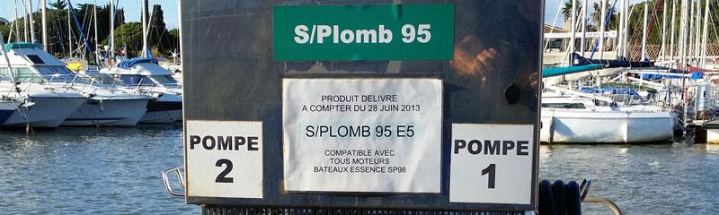 Pompe à essence de port miramar , La Londe les maures